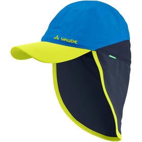 VAUDE Sahara Cappello III Bambino, blu/giallo